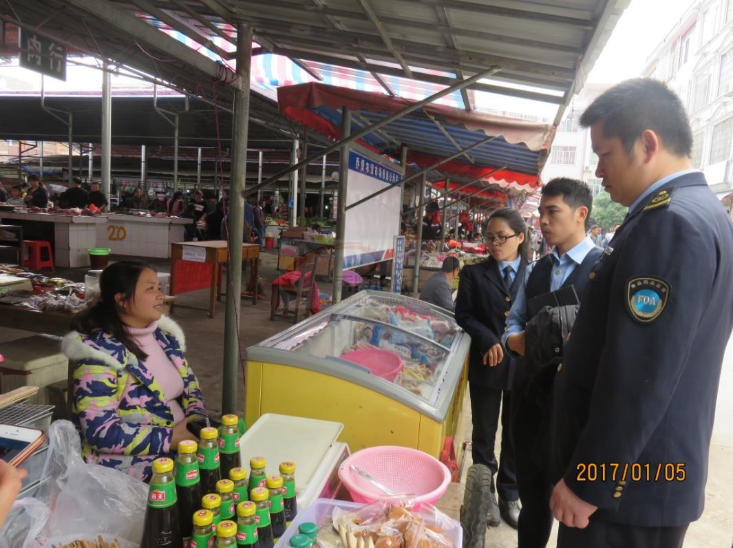 食药监管局开展元旦春节期间食品安全专项检查行动